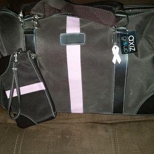 Aziz Tote Bag with smaller wristlet